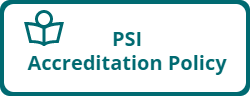 PSI Accreditation Policy