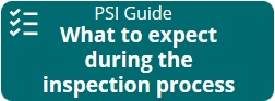 PSI guide on the inspection process