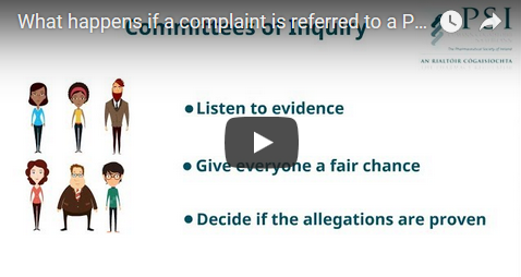 Video - what happens if a complaint we receive is referred to an inquiry